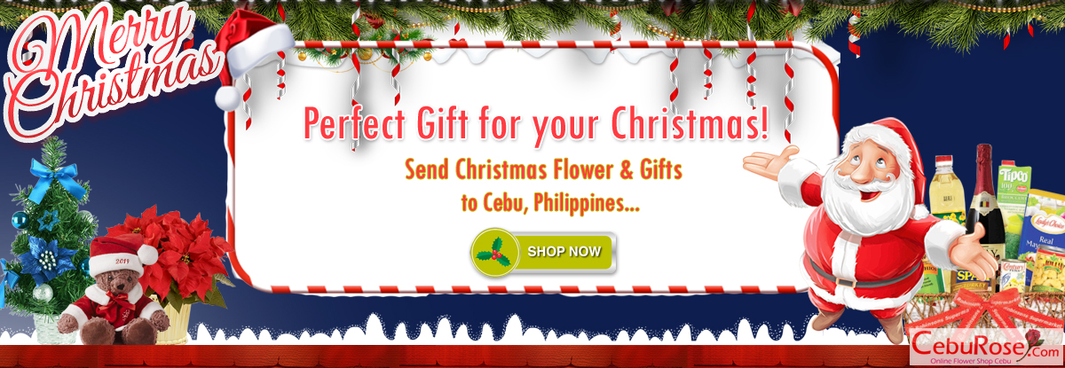 send christmas flower and hifts to cebu philippines