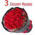 send 3 dozen roses to cebu philippines, order online 36 roses to cebu