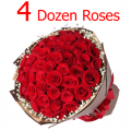 send 4 dozen roses to cebu philippines, order online 48 roses to cebu