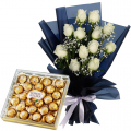 send anniversary flower with chocolate to cebu philippines