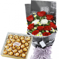 send birthday flower with chocolate to cebu philippines