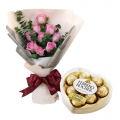send flower with chocolate to cebu philippines