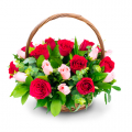 send rose basket to cebu, delivery rose in basket to cebu