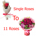 1 to 11 roses to cebu philippines, send single roses to cebu