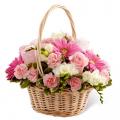 mothers day flowers basket send to cebu, mothers day flowers basket delivery in cebu