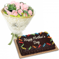 send mothers day flower with cake to cebu philippines