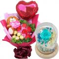 send valentines rose dome to cebu