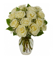 White Roses Bouquet  Online Order to Cebu Philippines
