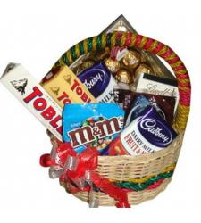 Send Assorted Chocolate Lover Basket #05 to Cebu Philippines