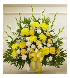 Send Blazing Basket of Yellow To Cebu