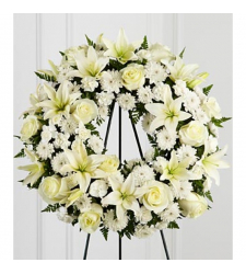 Send Lily Heaven Wreath to Cebu