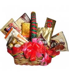 Send Assorted Chocolate Combo Basket to Cebu Philippines