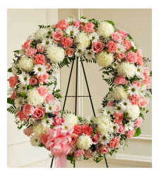 Send First-Class Wreath To Cebu