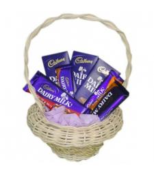 Send Cadbury Chocolate Lover Basket to Cebu Philippines
