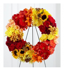 Send Blazing Blooms Wreath To Cebu