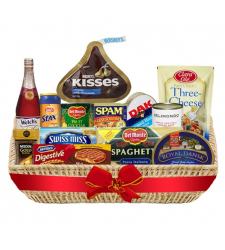Christmas Basket - Christmas Feast Deluxe Basket