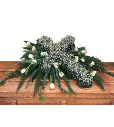 Send Casket Spray with Cross To Cebu