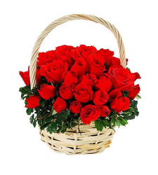 send 24 red roses in basket to cebu in philippines