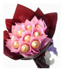 12pcs Ferrero Rocher in Bouquet to Cebu city