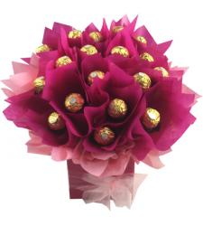 24pcs Ferrero Rocher in a Bouquet to Cebu Philippines