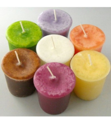 7pcs Colorful Candles to Cebu City