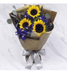 3 Stems Fresh Sunflower Bouquet