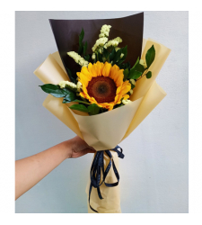 Bunch of Single Sunflower Bouquet