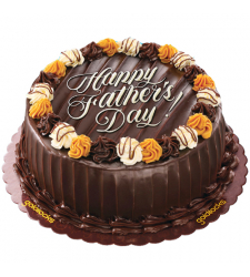 send fathers day choco caramel cake by goldilocks to cebu