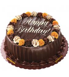 Choco Caramel Decadence Cake By Goldilocks Delivery in Cebu