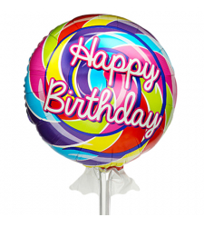 send 1pc. bappy birthday mylar balloon to cebu