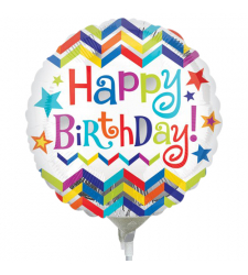 Single Birthday Mylar Balloon