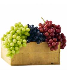 Wonderful Grapes Basket