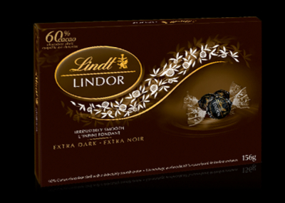 Send Lindt Lindor Extra Dark 168g to Cebu Philippines