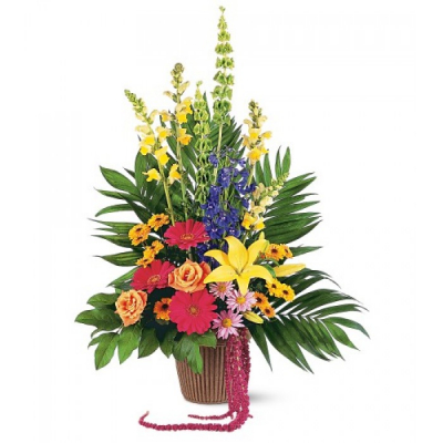 Send Celebration of Life Flower Arrangement To Cebu