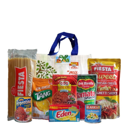 Groceries Spaghetti Package