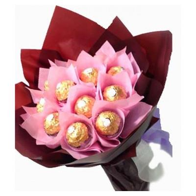 12pcs Ferrero Rocher in Bouquet to Cebu city