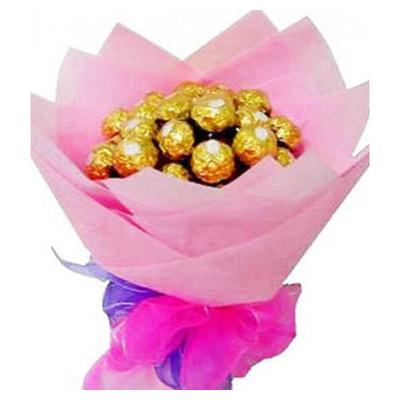 12pcs Ferrero Rocher in Bouquet Online to cebu.