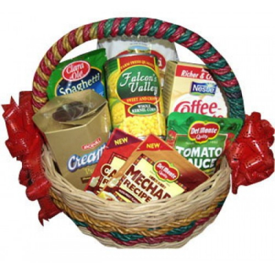 Xmas Gifts Basket Send to Cebu City
