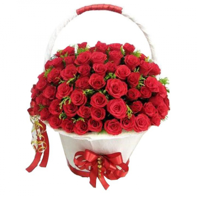 send 50 beautiful red roses in basket to cebu in philippines