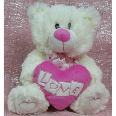 White Love Bear Send to Cebu City