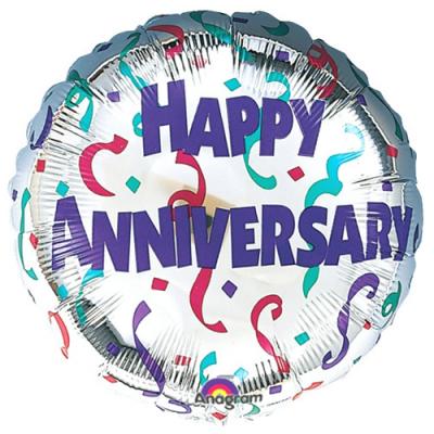 gorgeous happy anniversary mylar balloon to cebu
