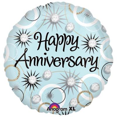 1pc. colorful anniversary mylar balloon to cebu