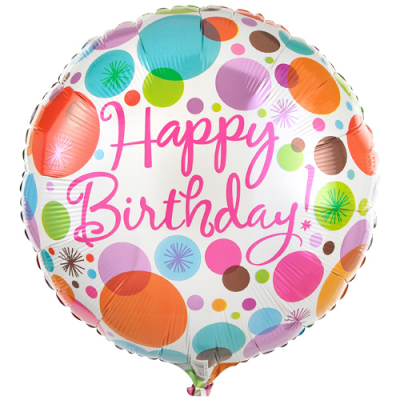 send single birthday mylar balloon to cebu