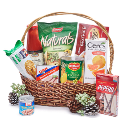 Holiday Grocery Gift Basket - 01