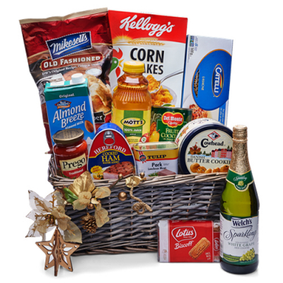Holiday Grocery Gift Basket - 05