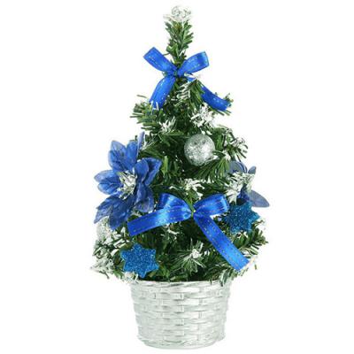 send 45cm blue small table top christmas tree to cebu