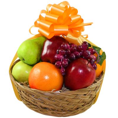 Basket of fresh fruits Basket