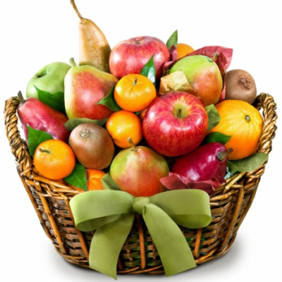 Full of Fruits in a Basket