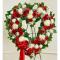 Send Patriotic Heart Wreath To Cebu