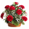 send 12 red roses in basket to cebu to philippines